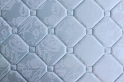 Detailed View of Mattress Stitching