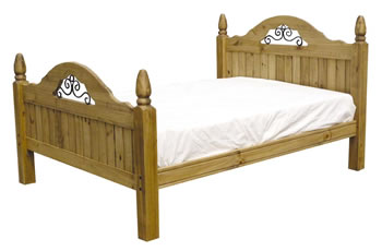 Irish Wooden Based Bed